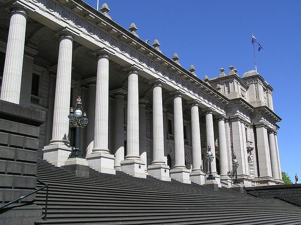 Parliament House, Melbourne (1855-1929)