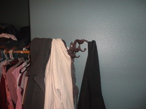 Pretty coat rack
