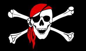 Pirate Flag with Bandana