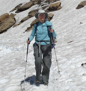 Hiking Poles Give Stability on Snow and Ice