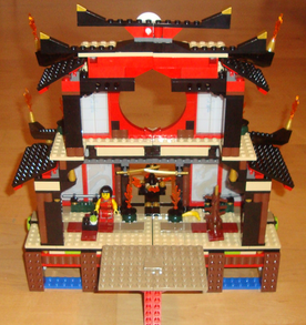 Ninjago Fire Temple (Rear)