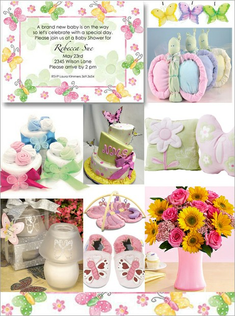 Baby Shower Montage