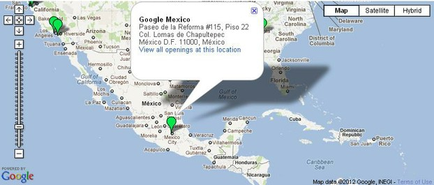 Google Jobs Mexico & office location