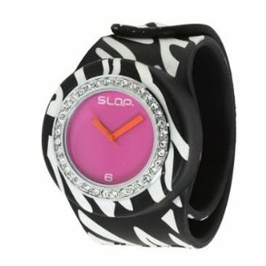 "Zebra ""Bling"" SLAP Watch"