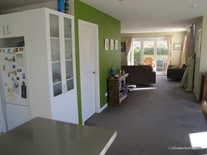 Walking into this sold us on the house - bifolds to the garden, downstairs WC, laundry, storage