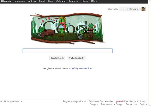 Google Argentina on Feb 29 2012