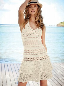 crochet sweaterdress