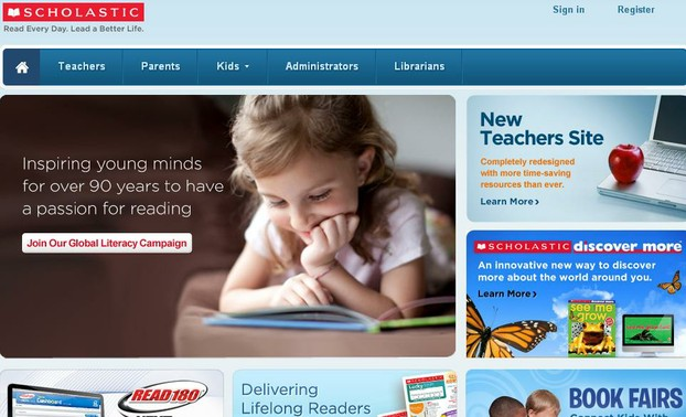 Scholastic Front Page