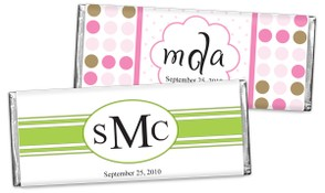 Personalized Chocolate Bars & Wrappers