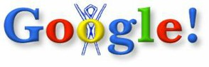 First Google Doodle,  August 30 1998