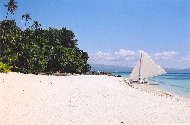 A beach on Boracay Island