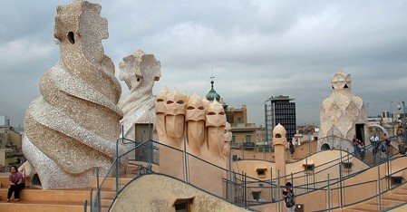 Gaudi, Spanish Architect: Buildings (Roof)