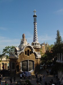 Spanish Architect Gaudi: Buildings (Park Guell)