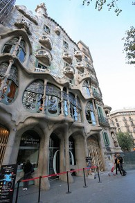 Spanish Architect Gaudi: Buildings (Casa Batllo)