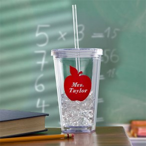 On the Go Personalized Acrylic Insulated Tumbler