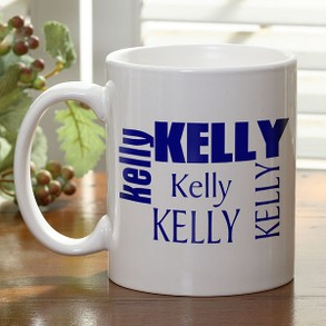 Just for You personalized Coffee Mug
