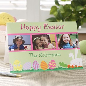 Happy Easter Photo Easter Card