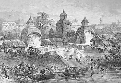 Kalighat Kali Temple in 1887