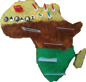 Africa Cake Picture
