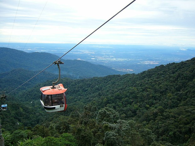 The Genting Highlands Skyway