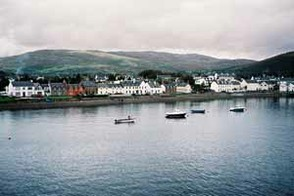 Ullapool from the water.