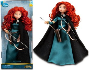 Disney version of the Princess Merida doll