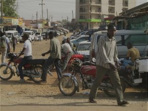 Roads in Juba are Mostly Unpaved