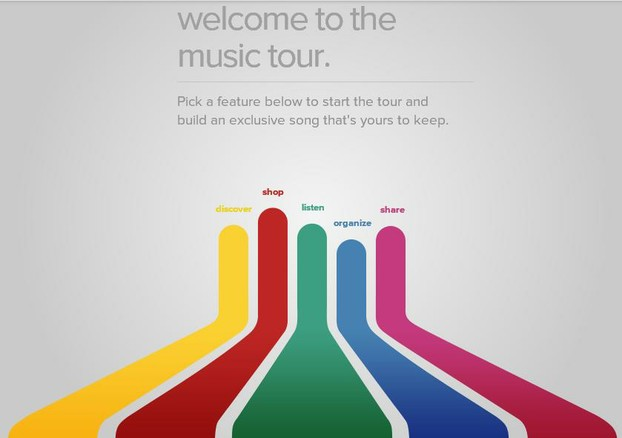 Google Play Music Tour