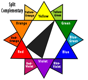 Split Complementary Colors