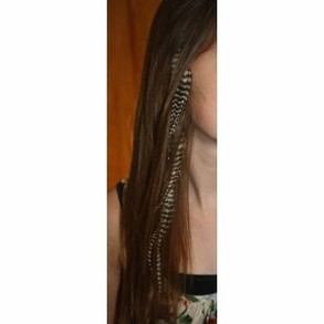 Feather Hair Extensions Are Easy To Add With Your Own Kit