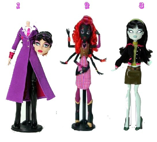 New Monster High Dolls 2012