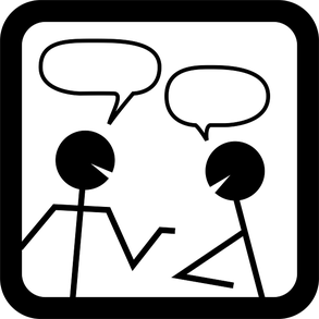 Stick People Speaking