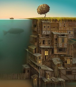 Surreal paintings: Jacek Yerka 1
