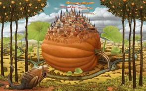 Surreal paintings: Jacek Yerka 2