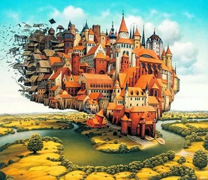 Surreal paintings: Jacek Yerka 3