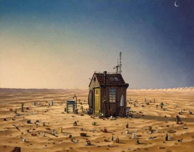 Surreal paintings: Jacek Yerka 5