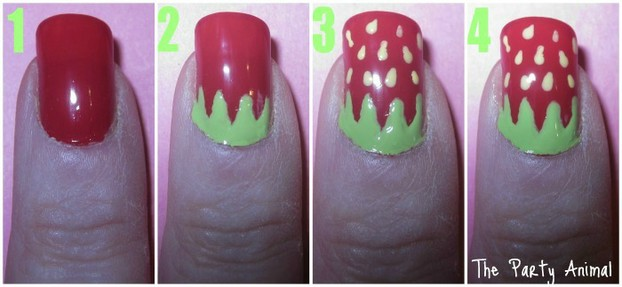 How to create a Ladybug Nail Design