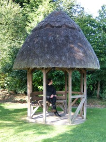A Small Thatched Gazebo