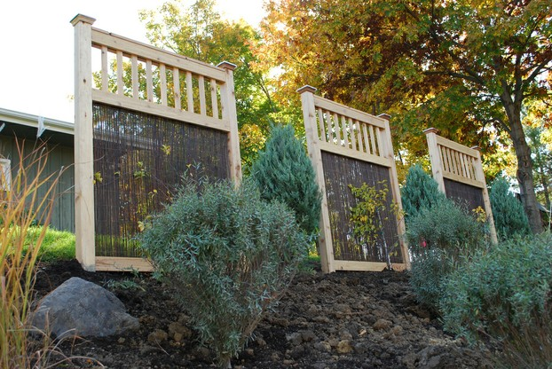 An Ornamental Trellis Can Be Used to Divide Spaces
