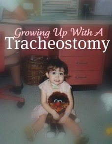 Photo of Author With a Tracheostomy as a Child