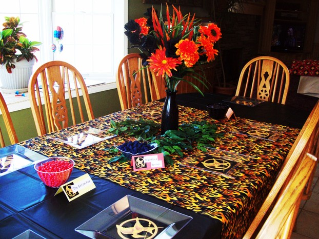 Hunger Games Party Table