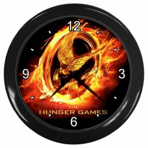 Hunger Games Wall Clock