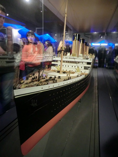 Image: Titanic Builder's Model