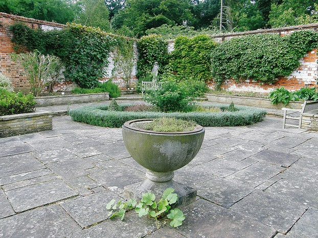 Old English Garden at Elvaston Castle and Country Park