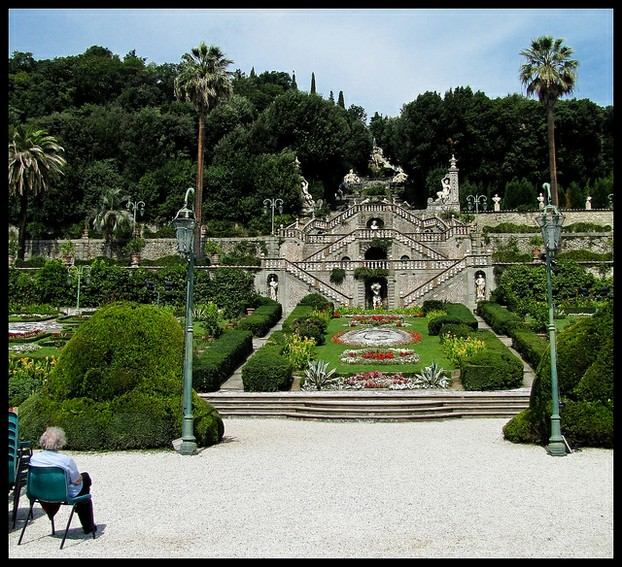 The historic Garzoni Garden, one of Italy's most gorgeous, was built around 1652.