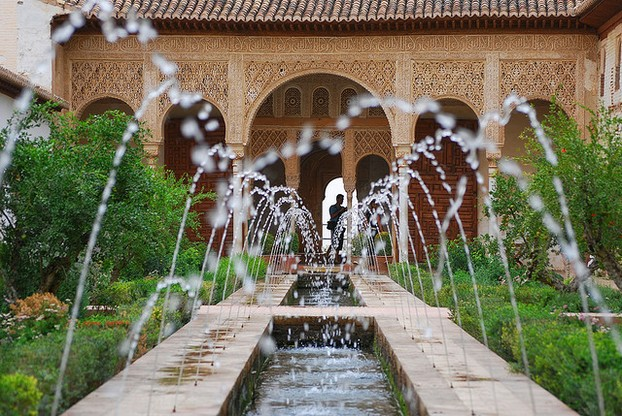 Moorish Fountain Close-up