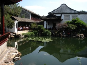 The Master of the Nets Garden in Suzhou was used as a model to be copied by other scholars.