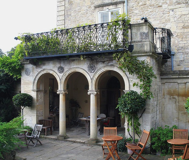 A Classic Example of a Loggia