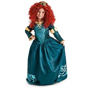 Disney's Green Dress Costume for Merida