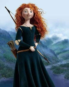 Merida's Green Dress in the Movie